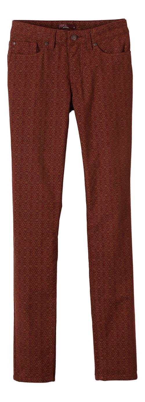 Womens prAna Trinity Cord Pants - Brown OS