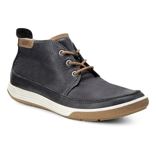 Womens Ecco Chase II Bootie Casual Shoe - Black/Whisky 42