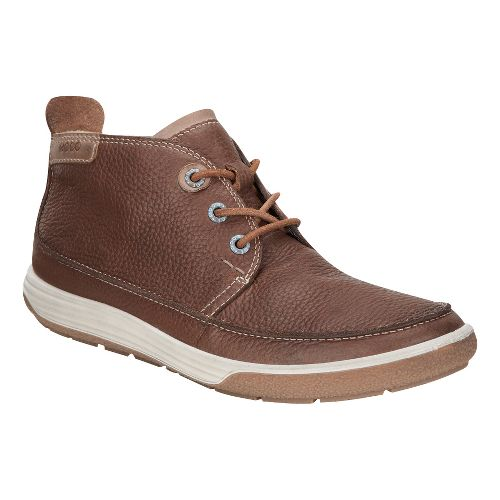 Womens Ecco Chase II Bootie Casual Shoe - Cocoa Brown/Whisky 37
