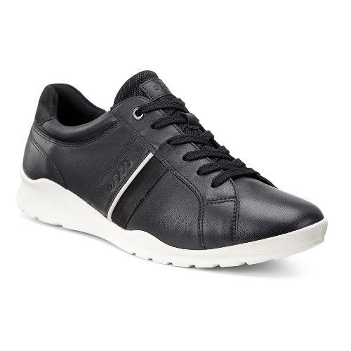 Womens Ecco Mobile III Casual Sneaker Casual Shoe - Black 42
