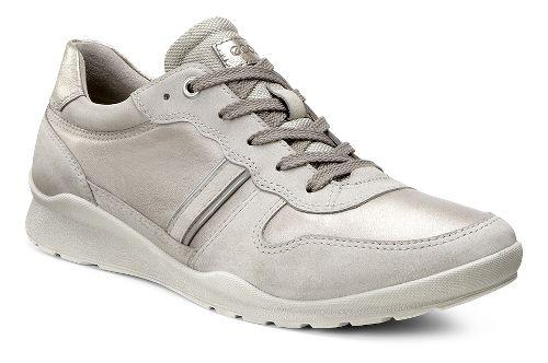 Womens Ecco Mobile III Tie Casual Shoe - Moon Rock/Dark Grey 41