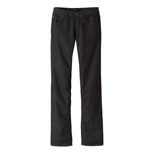 Womens prAna Lined Boyfriend Jean Pants - Black 00