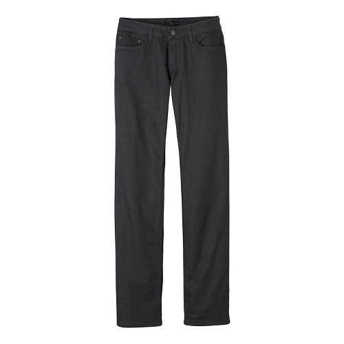 Womens prAna Lined Boyfriend Jean Pants - Grey 8