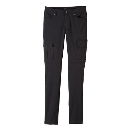 Womens prAna Meme Pants - Black 4