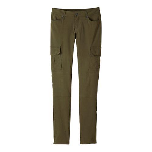 Womens prAna Meme Pants - Cargo Green 10