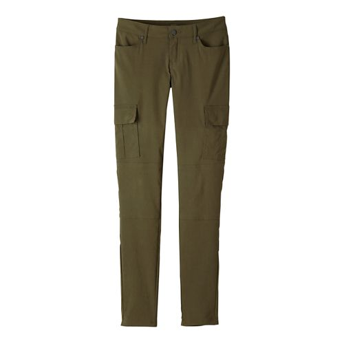 Womens prAna Meme Pants - Cargo Green 8