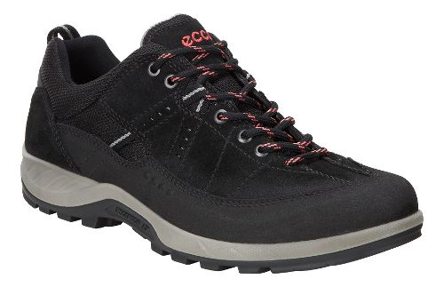 Womens Ecco Yura GTX Casual Shoe - Black/Black 40
