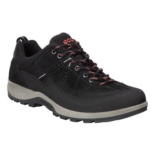 Womens Ecco Yura GTX Casual Shoe - Black/Black 38