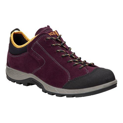 Womens Ecco Yura Low Casual Shoe - Mauve 37