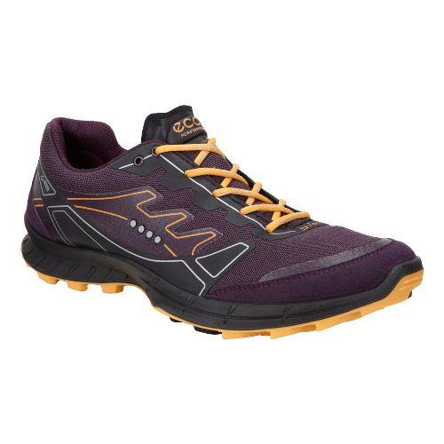 Womens Ecco Biom FL GTX Trail Running Shoe - Mauve/Fanta 41