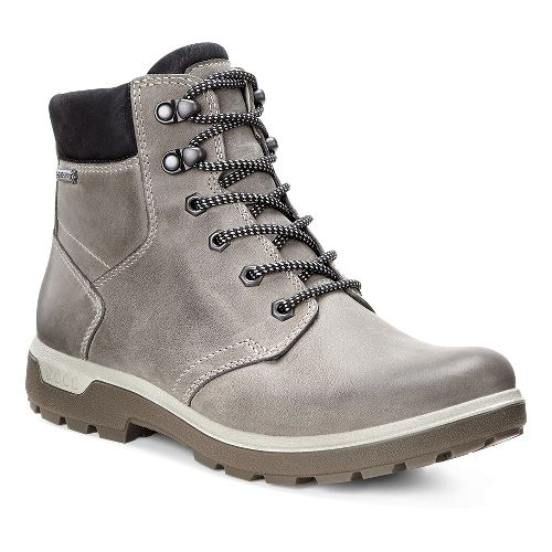 Womens Ecco Gora GTX Casual Shoe - Stone/Black 38