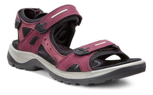 Womens Ecco Yucatan Casual Shoe - Morillo/Black 38