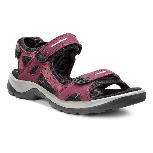 Womens Ecco Yucatan Casual Shoe - Morillo/Black 43