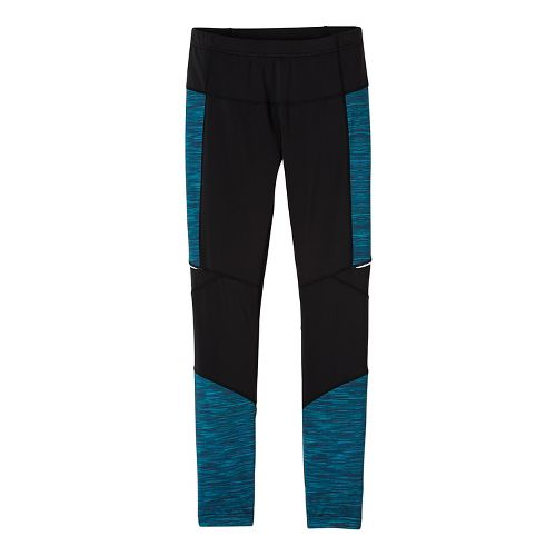 Womens prAna Ergo Tights & Leggings Tights - Blue L