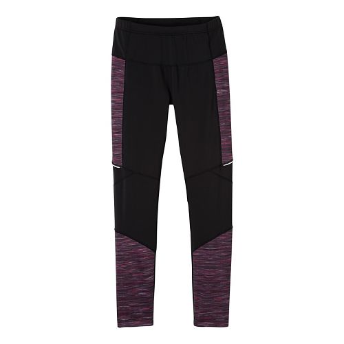 Womens prAna Ergo Tights & Leggings Tights - Purple L