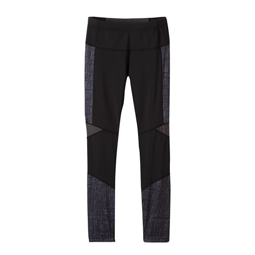 Womens prAna Ergo Tights & Leggings Tights - Black Kaleidoscope S