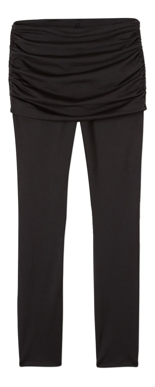 Womens prAna Remy Tights & Leggings Tights - Black XS