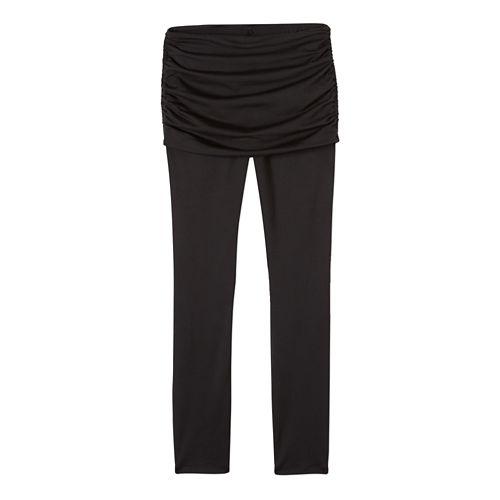 Womens prAna Remy Tights & Leggings Tights - Black S