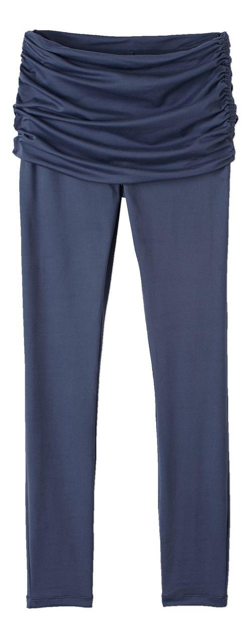 Womens prAna Remy Tights & Leggings Tights - Grey L