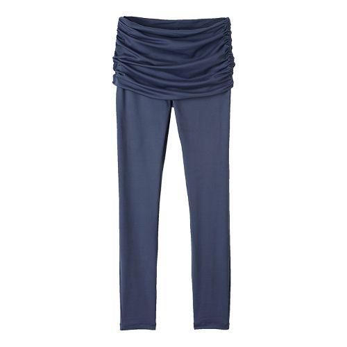 Womens prAna Remy Tights & Leggings Tights - Grey S