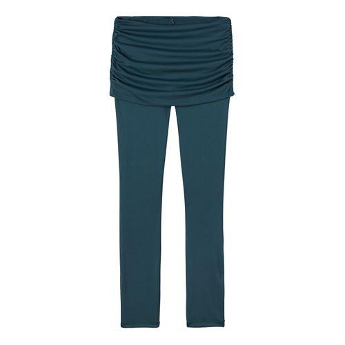 Womens prAna Remy Tights & Leggings Tights - Deep Balsam L