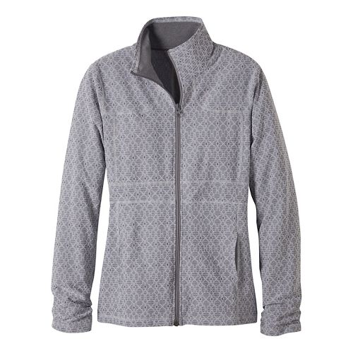 Womens prAna Reeve Casual Jackets - Grey L