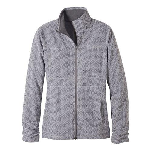 Womens prAna Reeve Casual Jackets - Grey M