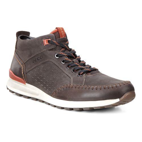 Mens Ecco CS14 Retro Boot Casual Shoe - Coffee/Picante 44