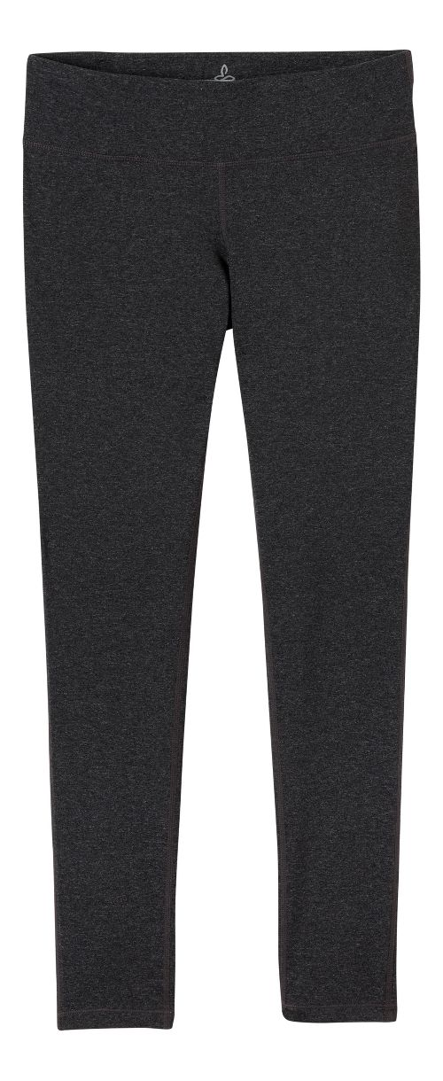 Womens Prana Ashley Leggings Tights - Charcoal Heather XS