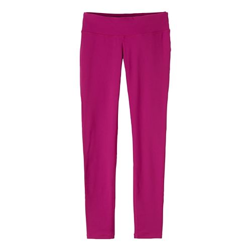 Womens Prana Ashley Leggings Tights - Rich Fuchsia S