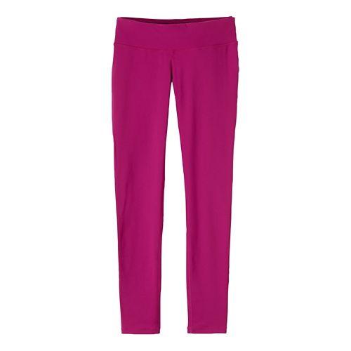 Womens Prana Ashley Leggings Tights - Charcoal Heather XS