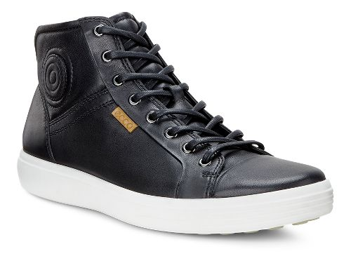 Mens Ecco Soft VII Boot Casual Shoe - Black 41
