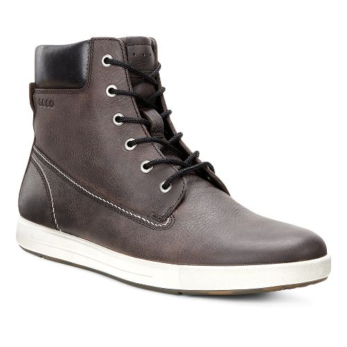 Mens Ecco Eisner Boot Casual Shoe - Espresso/Black 45
