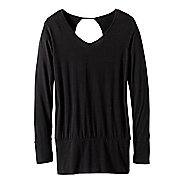 Womens prAna Cantena Long Sleeve Technical Tops
