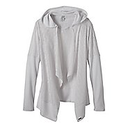 Womens Prana Graceful Wrap Long Sleeve Non-Technical Tops