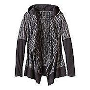 Womens Prana Graceful Wrap Long Sleeve Non-Technical Tops