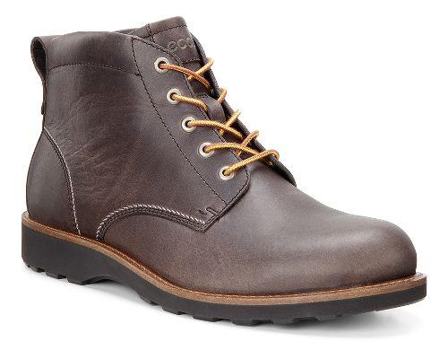Mens Ecco Holbrok Plain Toe Boot Casual Shoe - Dark Clay 44