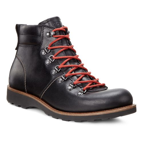 Mens Ecco Holbrok Rugged Boot Casual Shoe - Black 45