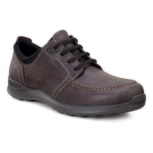 Mens Ecco Hayes Tie Casual Shoe - Mocha 42