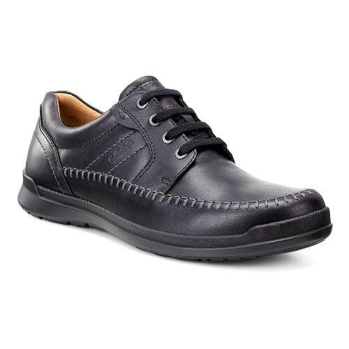 Mens Ecco Howell Moc Tie Casual Shoe - Black 48