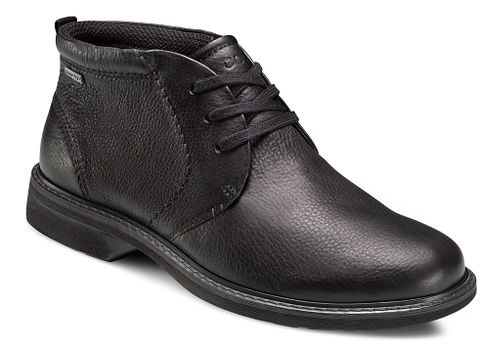 Mens Ecco Turn GTX Boot Casual Shoe - Black 47