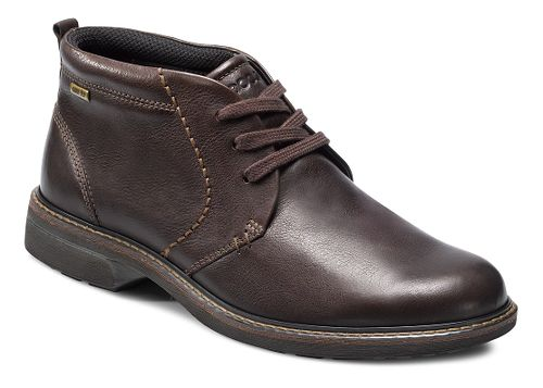 Mens Ecco Turn GTX Boot Casual Shoe - Coffee 44