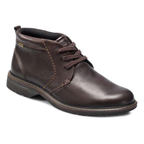 Mens Ecco Turn GTX Boot Casual Shoe - Coffee 47
