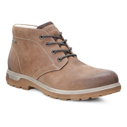 Mens Ecco Whistler Mid GTX Casual Shoe - Cocoa Brown 45