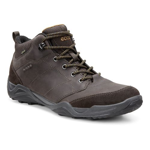 Mens Ecco Sierra II GTX Mid Casual Shoe - Mocha/Dried Tobacco 47