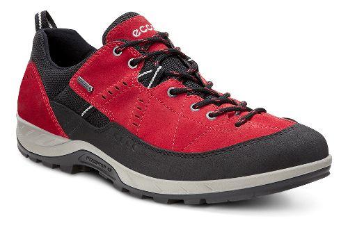 Mens Ecco Yura GTX Hiking Shoe - Black/Tomato 47