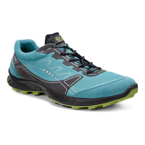 Mens Ecco BIOM FL GTX Trail Running Shoe - Pagoda/Herbal 47