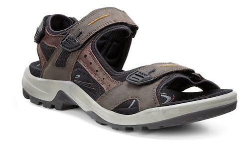 Mens Ecco Yucatan Sandal Sandals Shoe - Espresso/Black 50