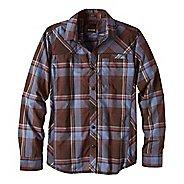 Mens prAna Farley Shirt Long Sleeve Non-Technical Tops