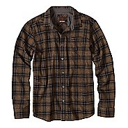 Mens prAna Woodman Long Sleeve Non-Technical Tops